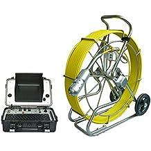 Resistente al agua IP68Pan Tilt Rotación de 360grados used Alcantarillado drenaje cámaras para venta de inspección Robot