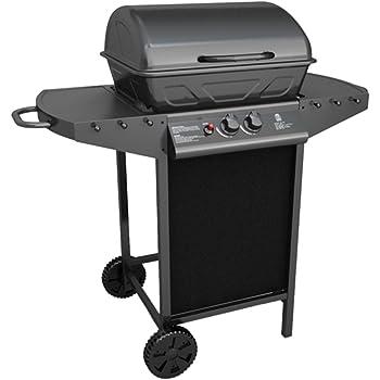 VidaXL 40219 Barbecue Zona cottura Gas 5500W Nero, Grigio barbecue e bistecchiera
