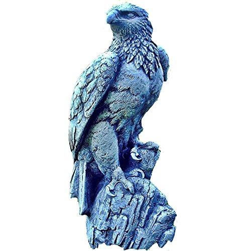 Steinfigur Seeadler Adler Falke Vogel Greifvogel Figur Steinguss