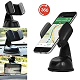 Handy / Smartphone halterung | für LG Fiesta LTE | Auto halter | Büro Halter | Multifunktional | AUT-Weiß