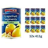 Produkt-Bild: Princes Grapefruit Segments In Juice 12x 411g - Grapefruit Stücke im eigenen Saft