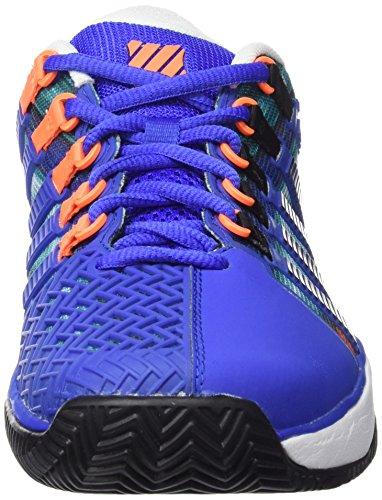 K-SWISS HYPERCOURT HB ETC BLUE/GRAPHIC PRNT Blue/Orange