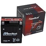 Novelbat AGM YTX7L-BS Motorradbatterie 12V 6Ah 75A