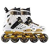 Inline Skates Erwachsene Anfänger Freestyle Sportskates Verdickung Stoßdämpfer Blinkrolle Straight Row Professional @ Dwx-2_39
