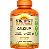Sundown Naturals - Liquide-Filled Calcium plus Vitamine D3 VALUE SIZE 170 Gélules