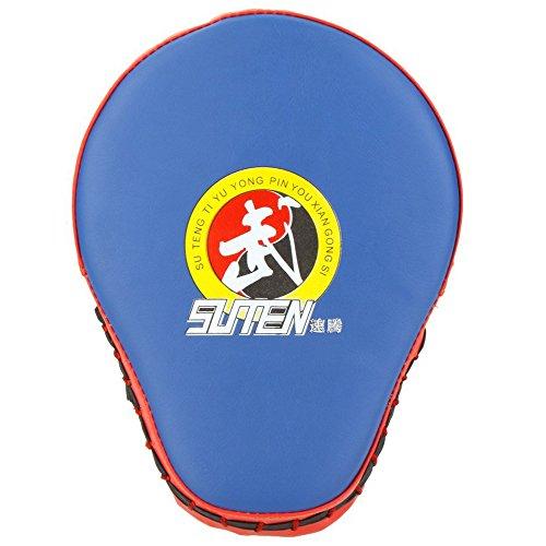 SUTEN PU Boxeo Mitt Formacion Objetivo Focos Cojin del sacador Guante