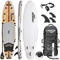 THURSO SURF Tabla de Paddle Sup Inflable Waterwalker 335 x 81 x 15 cm  Construcción de f8c0ed45b45