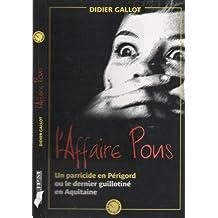 L'affaire Pons