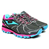 Joma Shock Lady, Zapatillas de Trail Running para Mujer, Gris (Gris 712), 37 EU