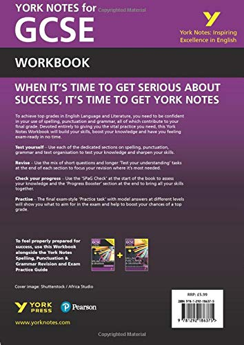 Spelling, Punctuation and Grammar: Workbook (York Notes)