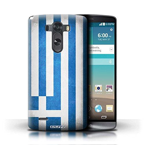 Kobalt® Imprimé Etui / Coque pour LG G3/D850/D855 / Italie/italien conception / Série Drapeau Grèce/Grec