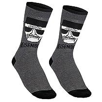 Breaking Bad officiel - 1 paire de chaussettes pour homme - effigie de Walter White