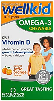 Vitabiotics Wellkid Omega-3 Chewable - 60 Caps
