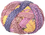 Schoppel-Wolle - Ovillo de lana para tejer, color marrón/rosa, 100 g