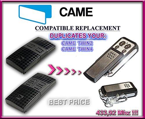 CAME TWIN2, CAME TWIN4 Compatibile Telecomando/CLONE, 4-canali 433,92Mhz fixed code sostituzione radiocomando.