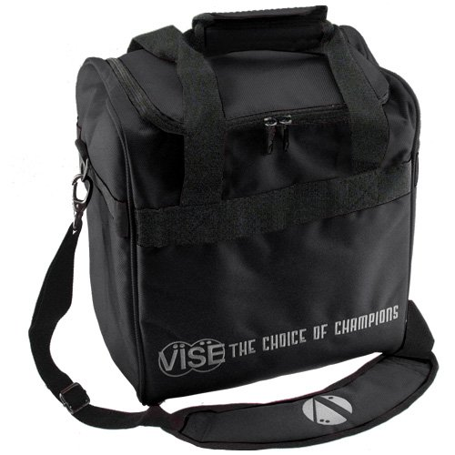 Vise 1 Ball Tote Black Bowling Bag by Vise