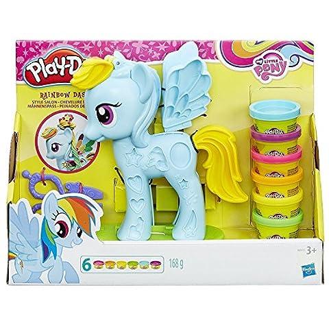 Hasbro Play-Doh B0011EU6 - My Little Pony Rainbow Dash Mähnenspaß, Knete