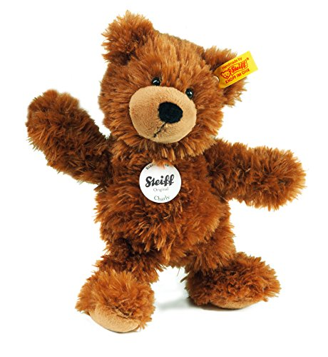 Steiff-23cm-Charly-Dangling-Teddy-Bear-Brown