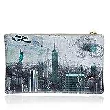 Y NOT? - Femme sac pochette f-341 new york city of dreams