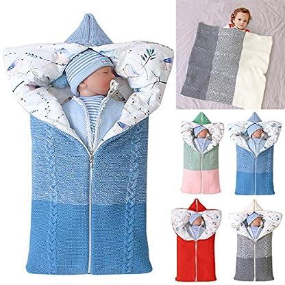 manta de cochecito de bebé, manta de bebé recién nacido saco de dormir cálido de invierno para bebés o niños de 0-12 meses