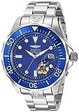 Invicta 24497 Disney Limited Edition - Mickey Mouse Reloj para Hombre acero inoxidable Automático Esfera azul
