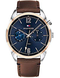 Tommy Hilfiger Analog Blue Dial Men's Watch-TH1791549