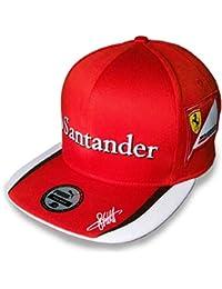 Ferrari Scuderia Ferrari Sebastian Vettel Flat Brim Cap 2015
