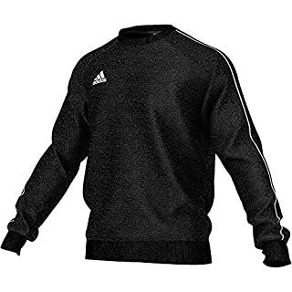 adidas Herren CORE18 Sweatshirt Black/White XL
