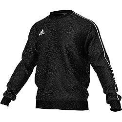 adidas Herren Core 18 Sweatshirt, Black/White, M
