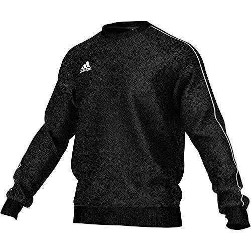 adidas Herren Core 18 Sweatshirt, Black/White, 2XL