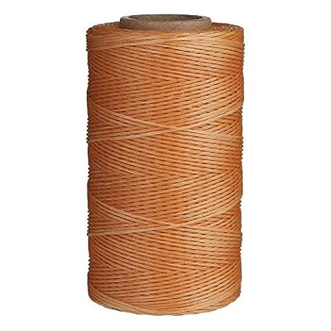 Candoran Bobine de fil ciré 4 couleurs disponibles 1mm 260m