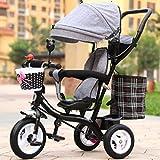 Babywagen Kinderdreirad männliches und weibliches Babyfahrrad / 1-2-3-6-jähriger Kindfahrrad-Babylaufkatze. FAHRRAD ( Farbe : #4 )