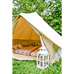 3m Bell Tent with zipped in ground sheet 100% Cotton Canvas Festival Tent Kids Tent Camping Tent Glamping Tent Garden Tent 11