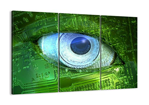 Bild auf Leinwand - Leinwandbilder - DREI Teile - Breite: 105cm, Höhe: 70cm - Bildnummer 0333 - dreiteilig - mehrteilig - zum Aufhängen bereit - Bilder - Kunstdruck - CE105x70-0333
