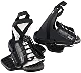 WAKETEC Wakeboard Bindung OnSet, Open Toe Boots mit Universal Base Plate