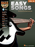 Easy Songs (Songbook): Bass Play-Along Volume 34