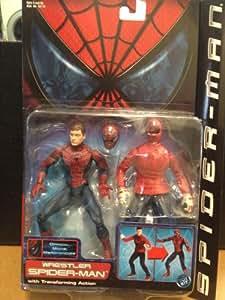Spider-man Movie Spiderman Wrestler Transforming 15 cm ...