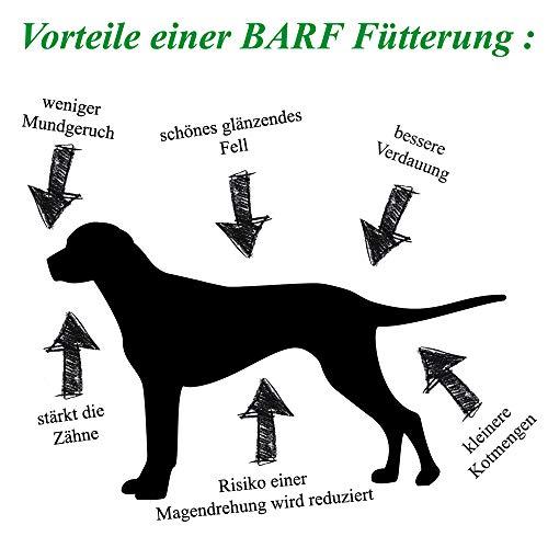 """Barfbox """"Geflügel- und Rindfleischkiste"""" 25kg Barffleisch / Barf für Hunde / Hundefutter / Katzenfutter / Frostffutter / Frostfleisch / Barf Paket - 5"""