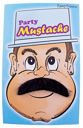 Kostüm Pablo - Schnurrbart Selbstklebend Pablo zum Kostüm