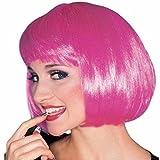 Rubie\'S Costume Co Super Model Hot Pink Wig Halloween Accessory