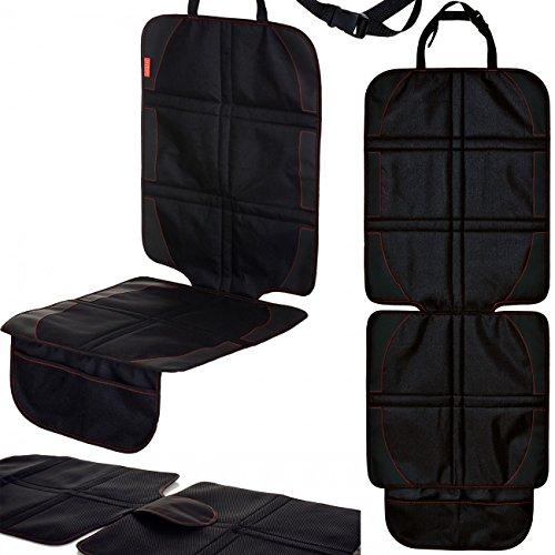 Preisvergleich Produktbild LCP Kids Autositzschoner Isofix Kindersitz Unterlage Schwarz