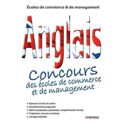 Anglais Concours des écoles de commerce et management