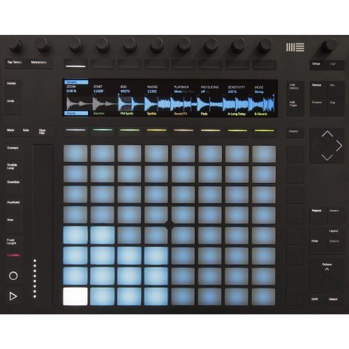Ableton Push 2 Mixer per DJ con USB e Live 9 Intro, nuovo