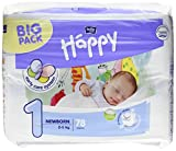 Bella Baby Happy pañales grande 1–Newborn, 2–5kg, 1er Pack (1x 78unidades)