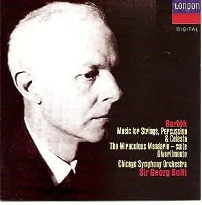 Bartòk-Musique pour Cordes,Percus.&Célésta-Mandarin Merveil-Leux-Divertimento-Ma