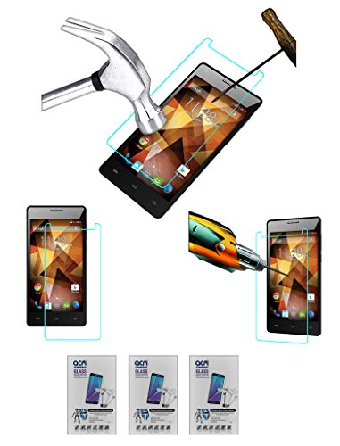 Acm Pack of 3 Tempered Glass Screenguard for Spice Xlife 511 Pro Screen Guard Scratch Protector  available at amazon for Rs.449
