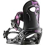 Flux fijaciones PR Snowboard vinculante, Unisex, Black Pink
