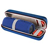 Scorel EVA Hard Case Travel Carrying Case pour JBL Charge 3 Haut-parleur sans fil Bluetooth(Bleu)