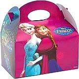 German Trendseller® - 4 x boîtes à cadeaux La Reine de Neige┃avec poignée pour remplir ┃ Disney┃l'anniversaire d'enfant ┃ pochette surprise