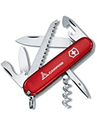 Victorinox - Couteau Suisse Victorinox Camper Logo CAMPING 1.3613.71 - 13 Fonctions